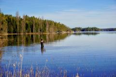 Fliegenfischen-Foxen-Schweden-Ferienhaus-Foxen-Resort