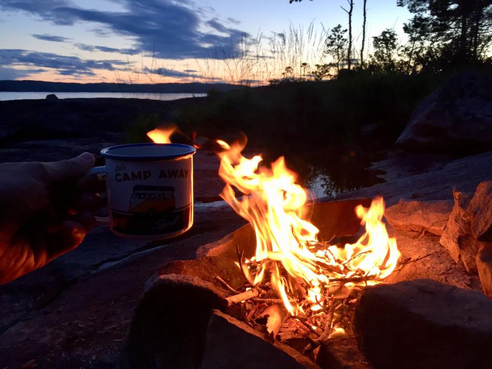 lagerfeuer-foxen-resort-ferienhaus-angeln-schweden-värmland